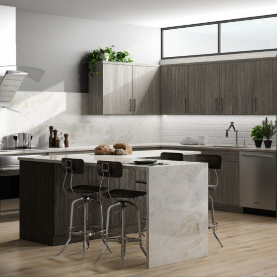 Semi-Custom Kitchen Cabinets Cleveland, Ohio