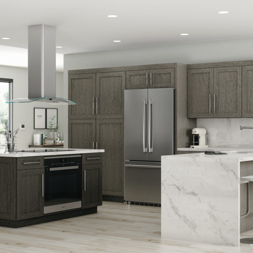 Cnc Kitchen Design: Semi-Custom Kitchen Cabinets Cleveland, Ohio